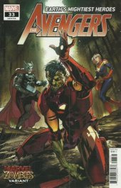 Avengers #33 Marvel Zombies Variant Edition