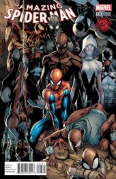The Amazing Spider-Man #7 Humberto Ramos Decomixado Variant