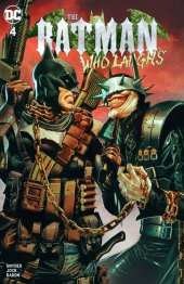 The Batman Who Laughs #4 Unknown Comics Exclusive Mico Suayan Variant A