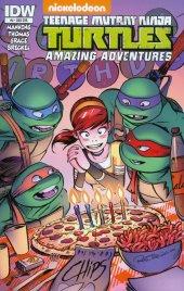 Teenage Mutant Ninja Turtles: Amazing Adventures #4 Subscription Variant