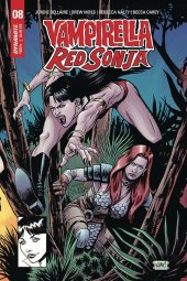 Vampirella / Red Sonja #8 1:7 Gorham Homage Cover