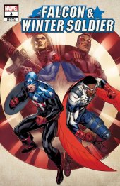Falcon & Winter Soldier #3 1:25 Cory Smith Variant