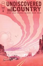 Undiscovered Country #6 Cover B Murphy