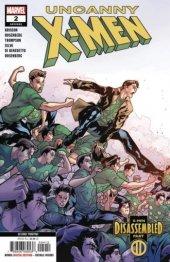 Uncanny X-Men #2 2nd Printing Silva Variant