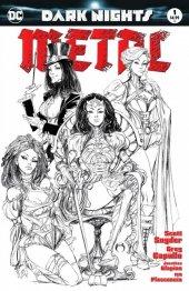 Dark Nights: Metal #1 Joe Benitez Sketch Variant