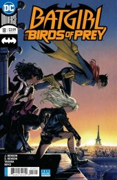 Batgirl and the Birds of Prey #18 Variant Edition