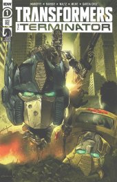 Transformers Vs. Terminator #1 Diego Galindo Jolzar Collectibles Retailer Exclusive Trade Dress Variant Cover A