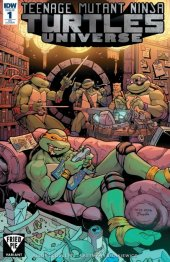 Teenage Mutant Ninja Turtles: Universe #1 Fried Pie Exclusive Variant Cover