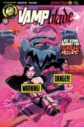 Vampblade: Season 4 #6 Cover B Young Risque
