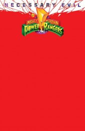Mighty Morphin Power Rangers #50 OASAS Comics Exclusive Red Blank Variant