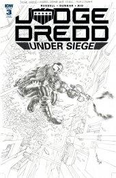 Judge Dredd: Under Siege #3 1:15 Incentive Variant