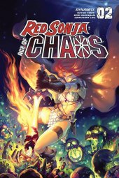 Red Sonja: Age of Chaos #2 FOC Variant - Hetrick