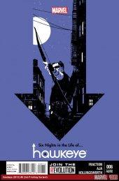 Hawkeye #6 3rd Printing