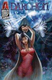 Darchon #1 Holographic Silver Foil White Widow Cover