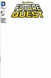 Future Quest #1 Blank Variant Edition