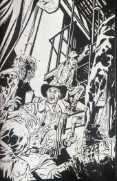 The Walking Dead #2 15th Anniversary Blind Bag Samnee B&W Virgin Cover