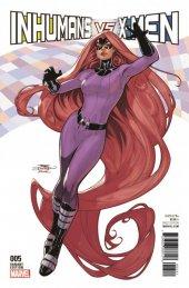 Inhumans vs. X-Men #5 Dodson Inhumans Variant