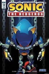 Sonic the Hedgehog #12 Original Cover