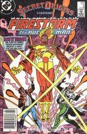 Secret Origins #4 Newsstand Edition