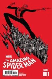 The Amazing Spider-Man #801 Original Cover