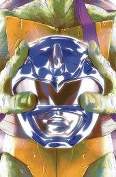 Mighty Morphin Power Rangers / Teenage Mutant Ninja Turtles #3 Cover C Don Montes
