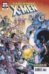 Uncanny X-Men #16 Sliney Asgardian Variant
