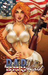 B.A.R. Maid #1 Cover D Franchesco