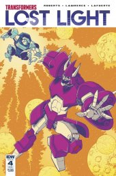 Transformers: Lost Light #4 SUB-A Cover