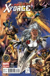 Cable and X-Force #8 50th Anniversary Variant