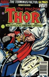 The Mighty Thor Annual #15 Newsstand Edition