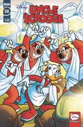 441 Uncle Scrooge #37 RI 1:10 Variant Cover IDW Comic Book Vol 2 2015 RARE HTF