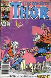 The Mighty Thor #372 Newsstand Edition