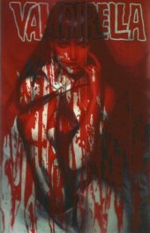 Vampirella #6 ARTGERM Blood Splatter Acetate cover
