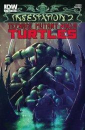 Infestation 2: Teenage Mutant Ninja Turtles #1 Cover B