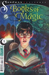 Books of Magic #1 Variant Cover Middleton