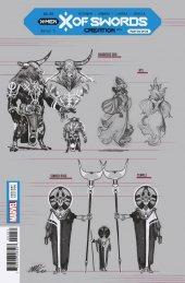 X of Swords: Creation #1 1:10 Larraz Design Variant
