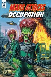 Mars Attacks: Occupation #4 Retailer Incentive  Variant