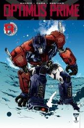 Optimus Prime #1 RI-C Cover