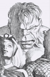 The Immortal Hulk #37 1:100 Alex Ross Timeless Virgin Sketch Variant