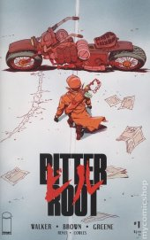 Bitter Root #1 Cover F eBay Exclusive Akira-Inspired Sanford Greene Variant