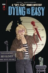 Dying is Easy #3 Cover  B  Rodriguez