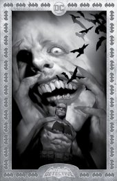 Detective Comics #1027 Ben Oliver Torpedo Comics Black & White Exclusive