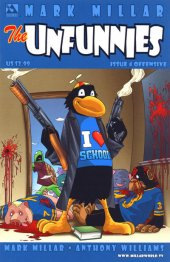 The Unfunnies #4 Offensive Cover