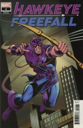 Hawkeye: Freefall #1 1:100 Hidden Gem Dave Cockrum Variant