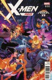 X-Men: Red #8 Campbell Cosmic Ghost Rider Vs. Variant