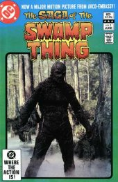 the saga of the swamp thing #2