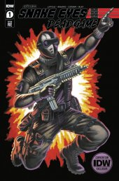 Snake Eyes: Deadgame #1 Convention Cover
