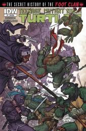 Teenage Mutant Ninja Turtles: The Secret History of the Foot Clan #1 Cover RI A