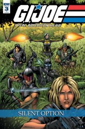 G.I. Joe: A Real American Hero - Silent Option #3 1:10 Incentive Variant
