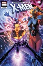 Uncanny X-Men #1 Unknown Comics Exclusive Anacleto Trade Dress Variant